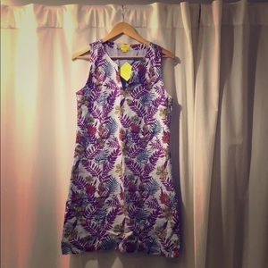 Roller Rabbit Marta print Bella Linen Dress